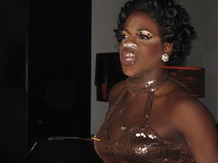 whitney houston drag queen