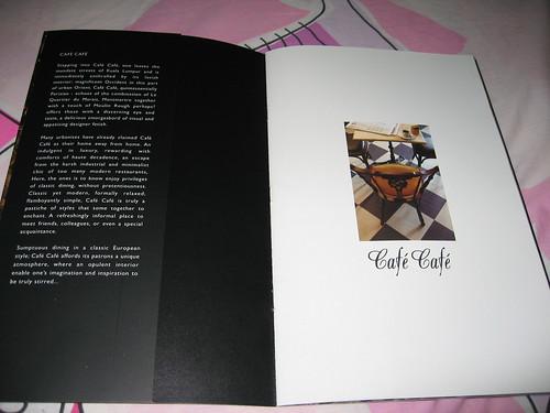 café café booklet