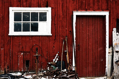 Barn Door and Window