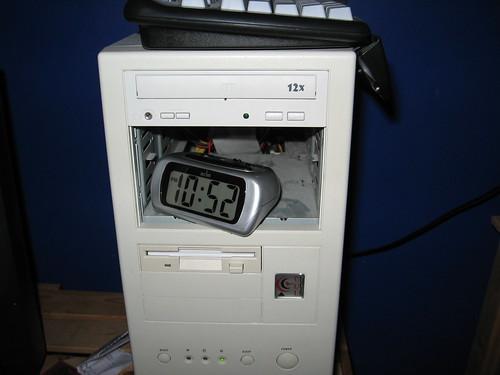 alarm clock computer server