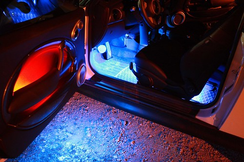 Door Mod Led Puddle Lights And Map Compartment Light