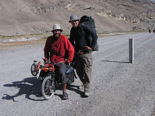 A forgotten photo - met Barbora & Petr from the Czech Republic in the Wakhan Valley, Tajikistan