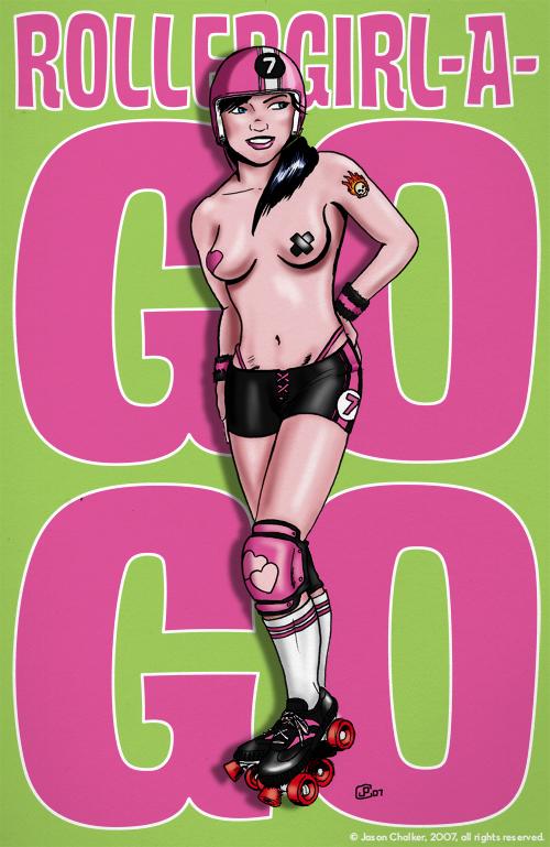 RollerGirl-a-GoGo