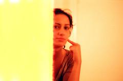 End of Film (elbud) Tags: portrait orange film yellow cheek minolta finger yael 101 end tungsten date expired srt dated nahum overdate overdated platinumheartaward