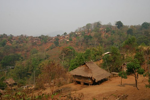 Another hill tribe village...No name.