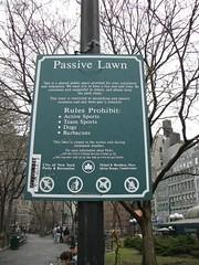 Passive Lawn