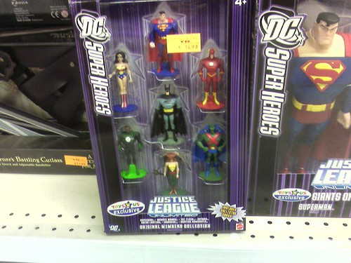 Justice League Diecast Box Set