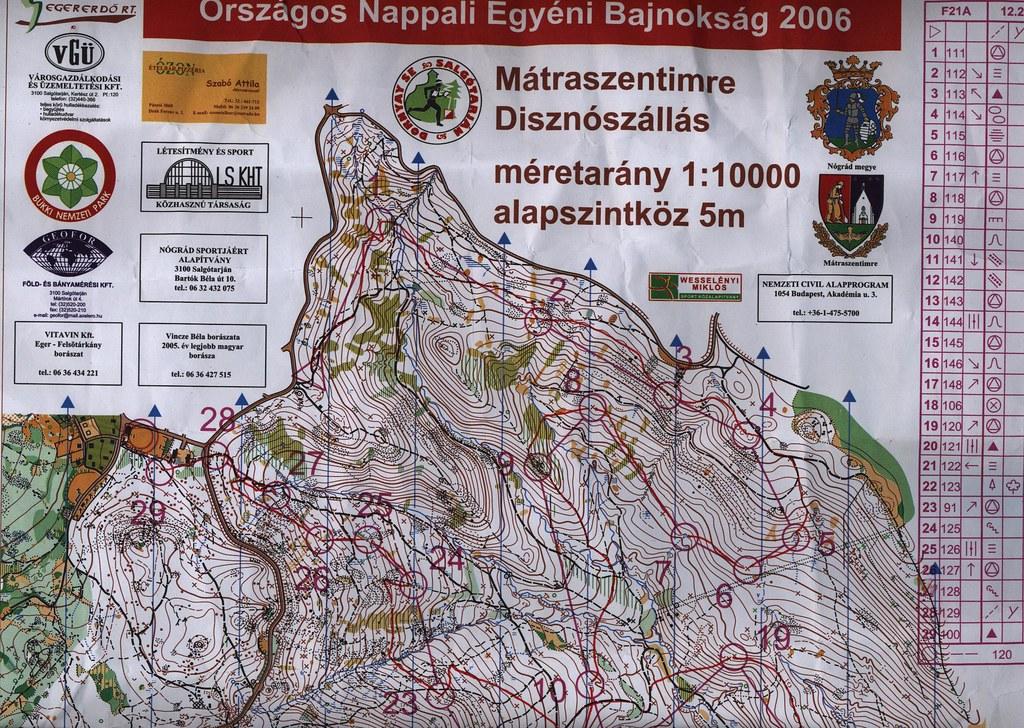 Nógrád Nagydíj - térkép - Mátraszentimre