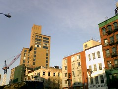 The Bowery Hotel from the southwest - Bleecker and Bowery