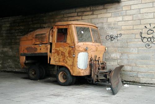 Bulldozer Truck