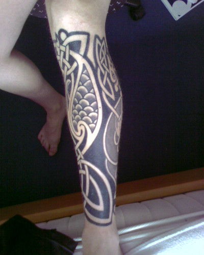 Celtic Tattoo Left Leg (Set)