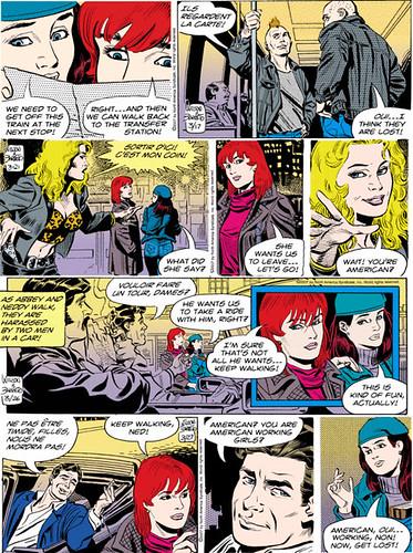 A compilation of favorite recent Judge Parker strips