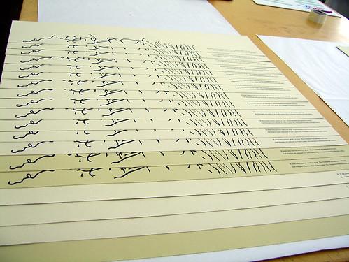 Editioning prints