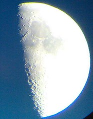 Moon on a Mobile Phone