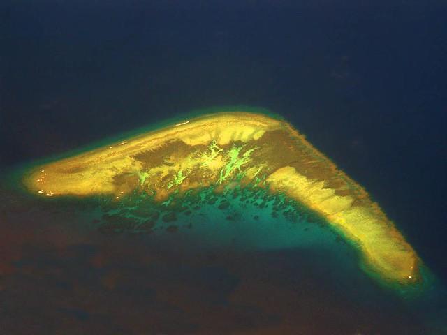 Boomerang Island - the Spratlys