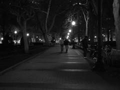 Walking Through (podolux) Tags: people philadelphia night nightshot pennsylvania pa nighttime philly rittenhousesquare afterdark mycity phila cityofbrotherlylove d40 afterthesunhasset cityofphiladelphia