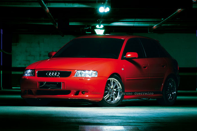 auto red brazil car brasil indoor vermelho turbo carro a3 audi automovel automotor veiculo brunoguerreiro
