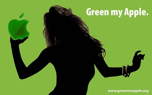 wallpaper green apple. quot;Green my Applequot; wallpaper