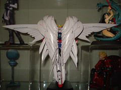 closed wings (katsuboy) Tags: japan models gundam wingzero jfigure