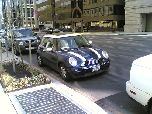 Mini Cooper Parking Offense