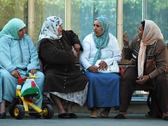 Argument (Greg Robbins) Tags: people woman women muslim arab catalunya immigrants immigrant masnou