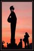 Zuiderterras, Antwerp, Belgium (sunset) Minerva statue (piggy2007b) Tags: sunset zonsondergang bravo belgium belgie antwerp schelde antwerpen zuiderterras tweeduizend aplusphoto