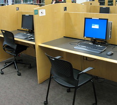 Computers by Valley Library (Oregon State University), on Flickr