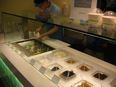 pinkberry, ny, frozen yogurt, shaved ice