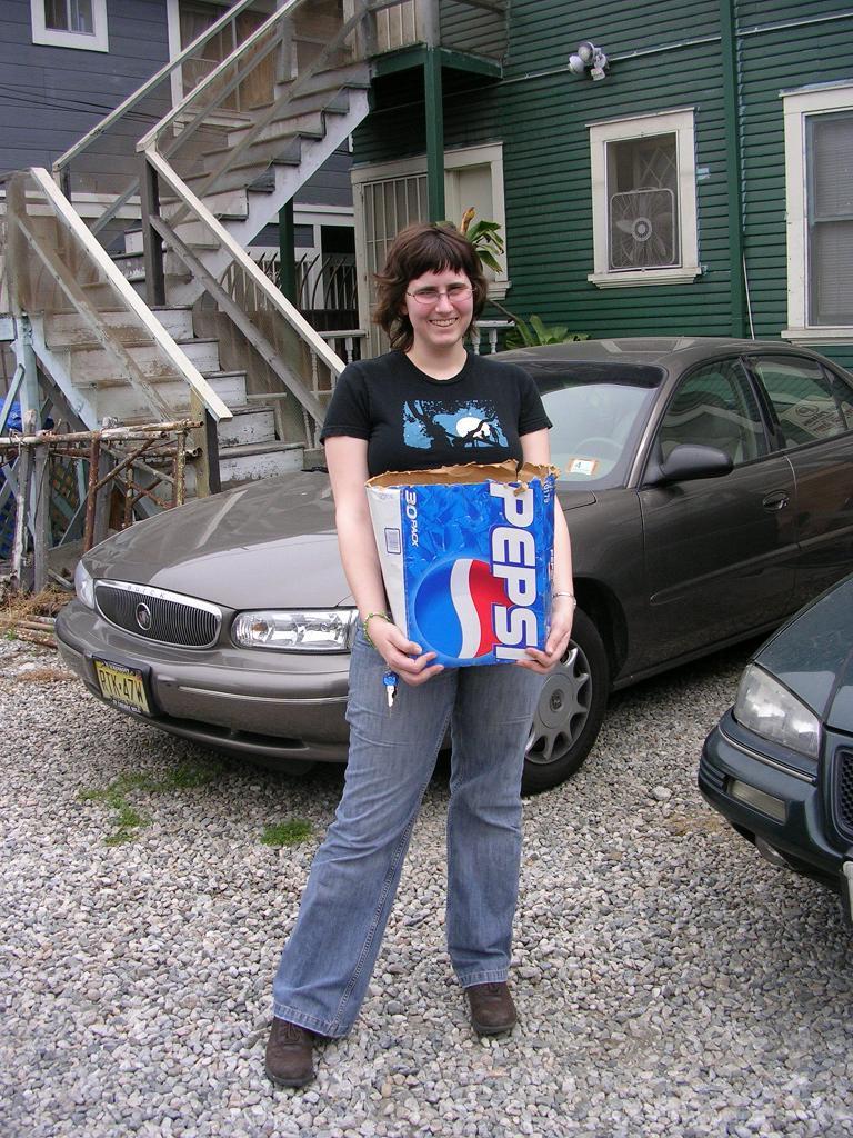 Day 1-Bye Bye Pepsi Box