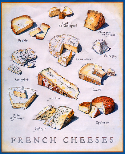 Know Your French Cheeses by Zeetz Jones.