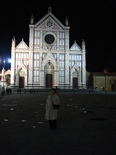 Santa Croce... at night
