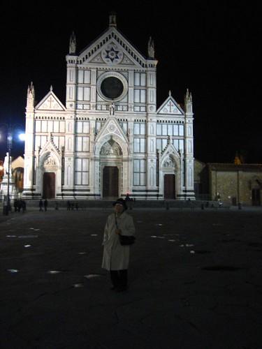 Santa Croce... at night