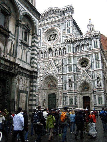 Duomo... in the rain?