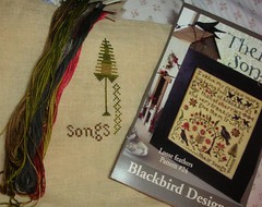 "Another pic. of my new start - Blackbird Designs ""Their Song."""