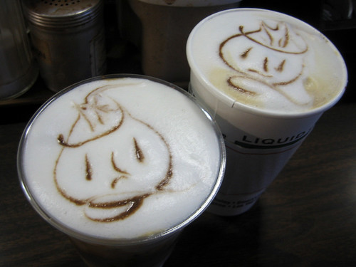 twin latte faces