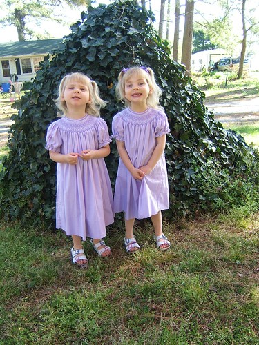 purple smocked dresses