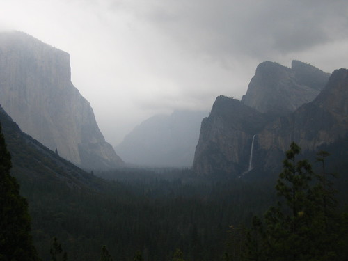 Breathtaking Yosemite valley