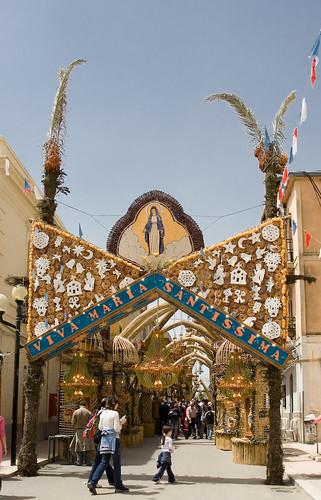San Biagio Platani - Archi di Pasqua da lorca56.