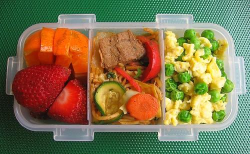 Yakisoba lunch