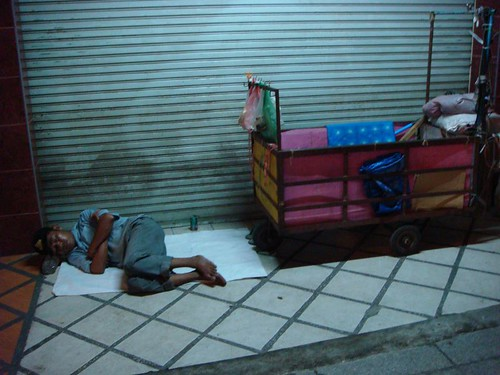 Homeless in Chiang Mai...