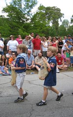 Cub Scouts on Parade