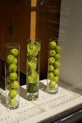綠蘋果排排站