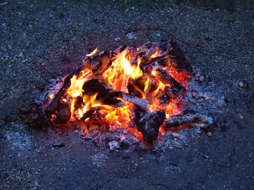 feu de grillade