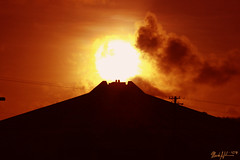 05-02-2007 An Erupting Volcano (markieboy) Tags: sun house field sunrise university rise soe guam fieldhouse uog universityofguam