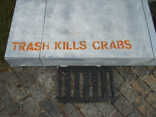 Trash Kills Crabs