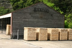 Rickyard at Jack Daniel's Distillery