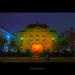 Fete des lumières | Lyon (dominikfoto) Tags: fetedeslumières lyon celestins coeur hearth fusina fusinadominik theatre