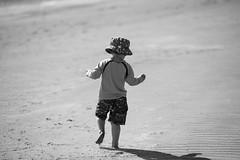 20160830_Beach_Boy_001 (jnspet) Tags: beach boy child shore outdoor seaside sand cute blackandwhite bw blackwhite monochrome sunny
