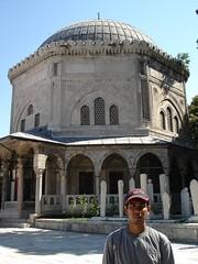Makam Sultan Suleyman, Istanbul, Turkey