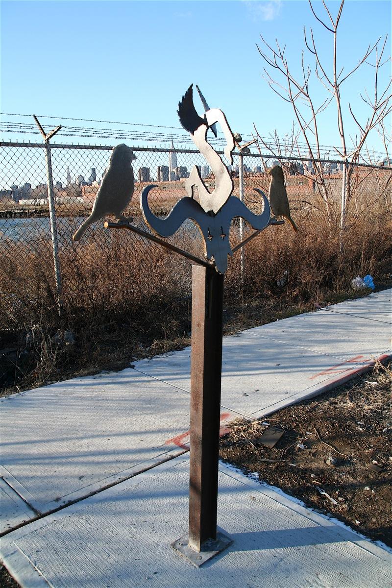 bushwick inlet sculpture